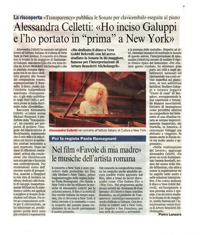 Corriere della Sera-4Giugno 2009